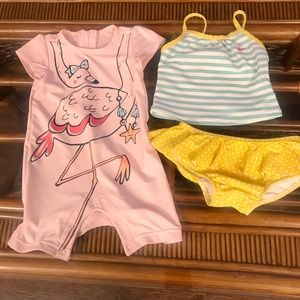 Other - Bundle of Two Swim Suits Size 18 months
